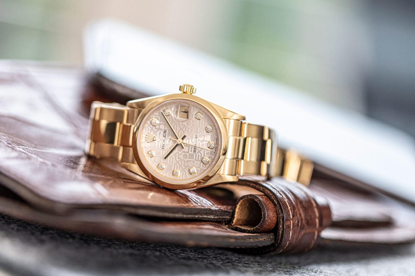 Lifestyle-Bild - Rolex-Uhr